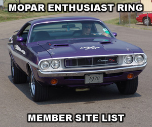 Mopar Enthusiast Ring Member Liat