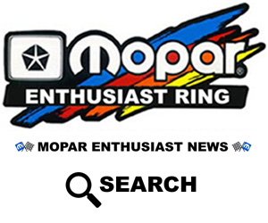 Search Mopar Enthusiast News