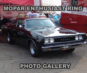 1968 Dodge HEMI Super Bee, photo from the Mopar Ring archives.