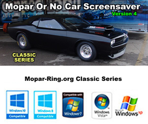 Mopar Or No Car 4.