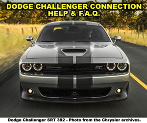 Dodge Challenger Enthusiast Connection Help