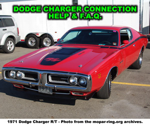 Dodge Charger Enthusiast Connection Help