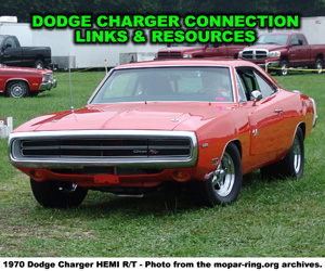 Dodge Charger Links And Resources