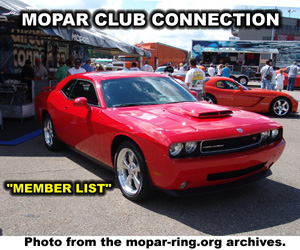 Mopar Clubs And Organizations Member Sites
