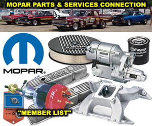 Mopar Parts And Services Connection Member Sites