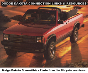 Dodge Dakota Links And Resources