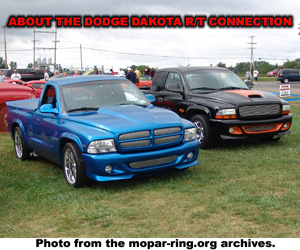 About The Dodge Dakota R/T Connection