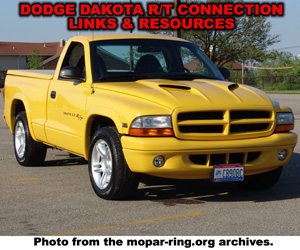 Dodge Dakota R/T Links And Resources