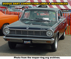 Dodge Dart Links And Resources