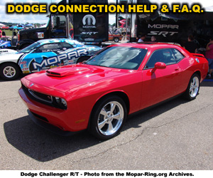 Dodge Enthusiast Connection Help