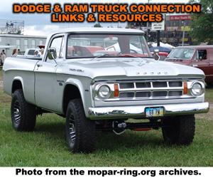Dodge Dodge And RAM Truck Links And Resources