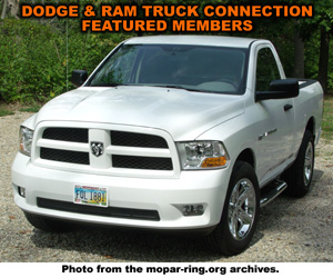 Dodge And RAM Truck Member Sites