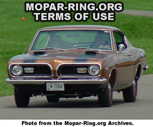 Mopar Enthusiast Ring Terms Of Service