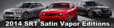2014 SRT Satin Vapor Editions