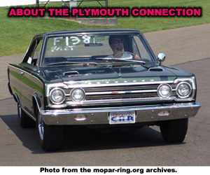 About The Plymouth Vehicle Connection