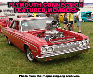 Plymouth Vehicle Member Sites