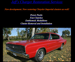 Jeff's Charger Restoration Services
