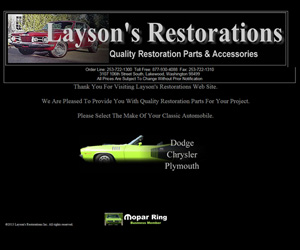 Layson's Restorations Inc.