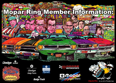 Mopar Ring Member Information