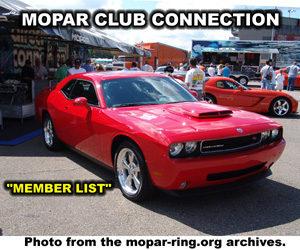 Mopar Clubs
