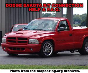 Dodge Dakota RT Help