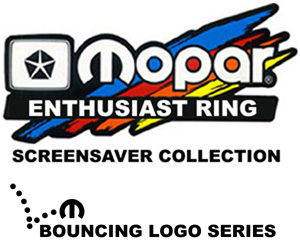 Mopar Bouncing Screensavers