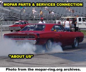 About Mopar Parts